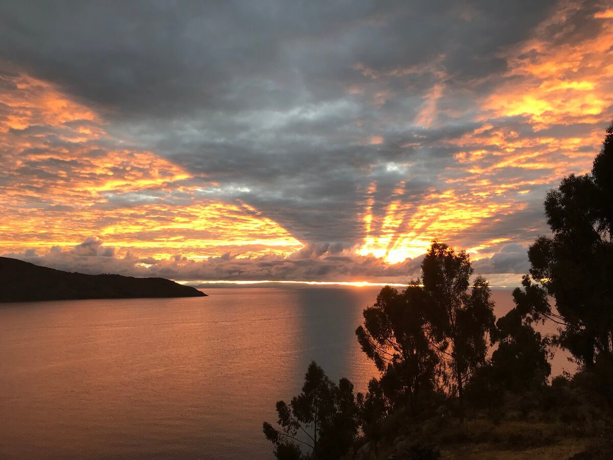 11Sunrise above Lake Titicaca - RESPONSible Travel Peru