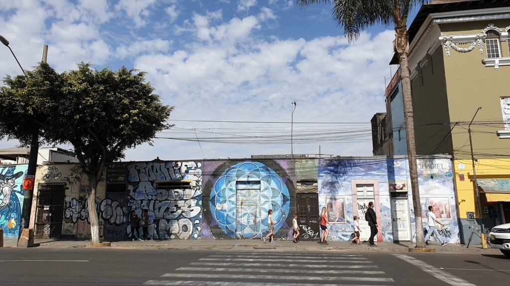 Barranco is the hippest district of Lima with a lot of streetart, small boutiques and great streetfood - RESPONSible Travel Peru
