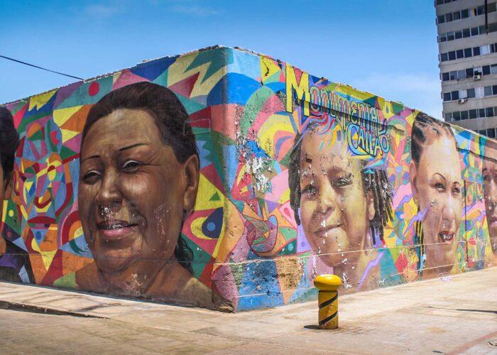 Urban art in Lima, Peru   Responsible Travel Peru