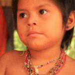 Child Matsiguenga posing for our photographer | Responsible Travel Peru