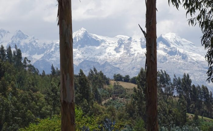 Spectacular view of the snow-capped mountains of the Cordillera Blanca from the community of Vicos | Responsible Travel Peru