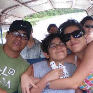 11Percy, Santiago, Analía. The Sanchez Sarfati Family   Responsible Travel Peru