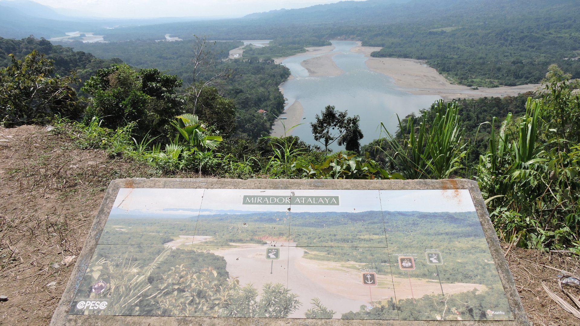 Atalaya's viewpoint over the Alto Madre de Dios river   Responsible Travel Peru