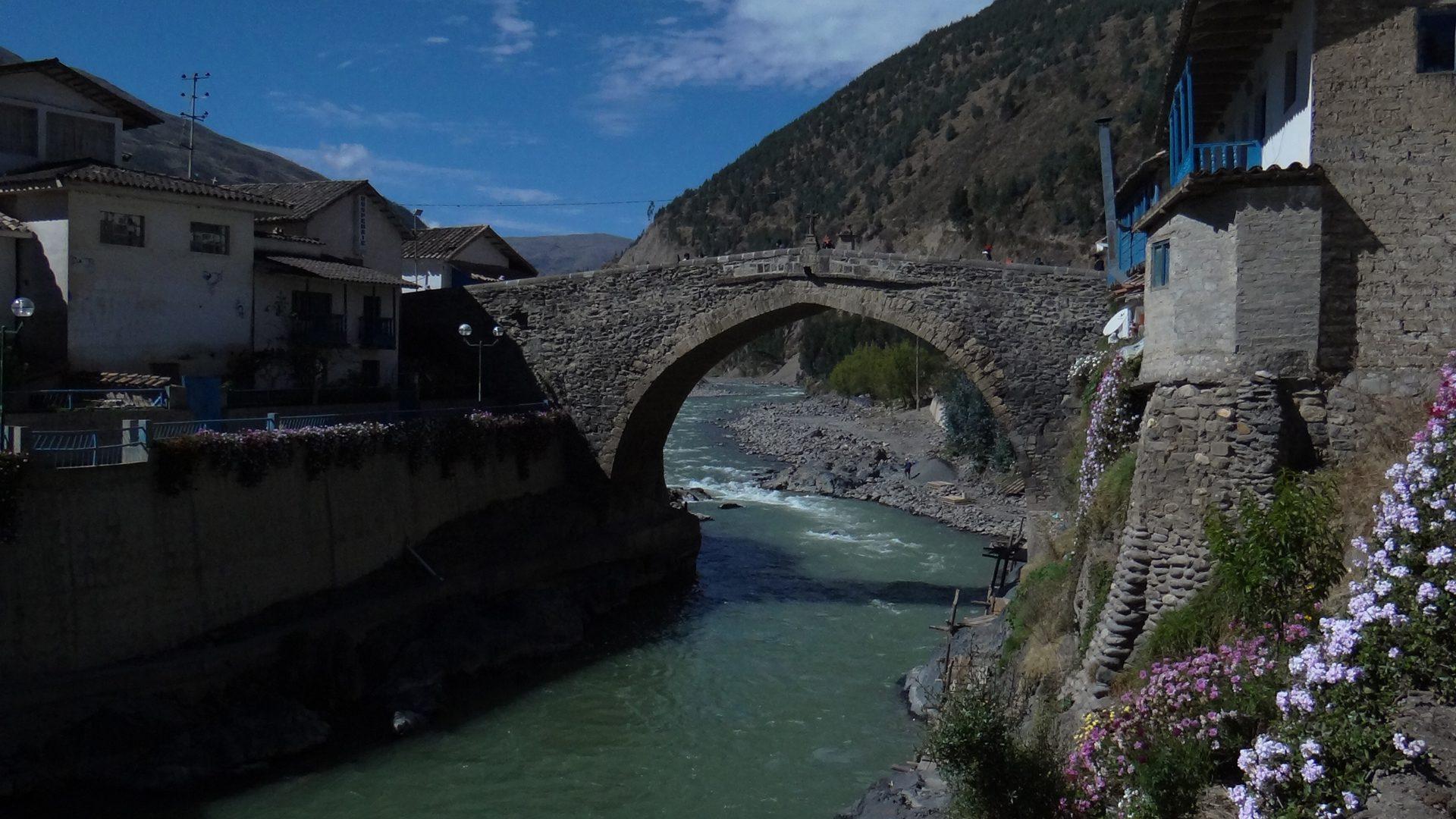 Paucartambo's stone bridge over the Mapacho river   Responsible Travel Peru